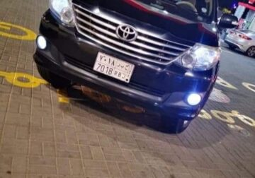 Toyota fortuner Model 2013 in Jeddah