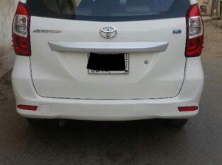 Urgent sale Toyota AVANZA 2016