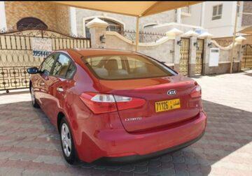 Kia Cerato 2015 model Oman car Full automatic