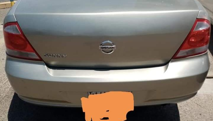 Nissan sunny Model. 2007 OD. 386000 Automatic