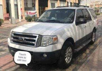 SUV. ford Expedition 2013 best condition. All main