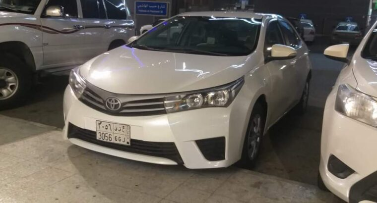 Toyota Corolla 2015 for sale in Jeddah