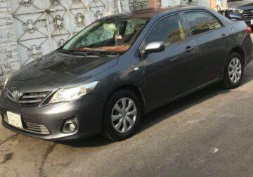 For sale Toyota Corolla Model 2013 Automatic