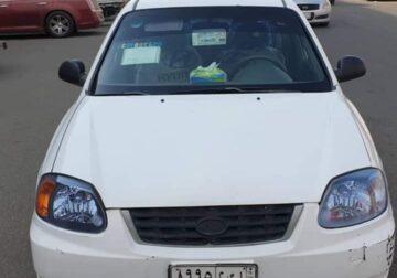 السيارة: هونداي – اكسنت الموديل: 2005 حالة السيارة