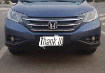 Honda CRV 2013 Full Options only series Bayer