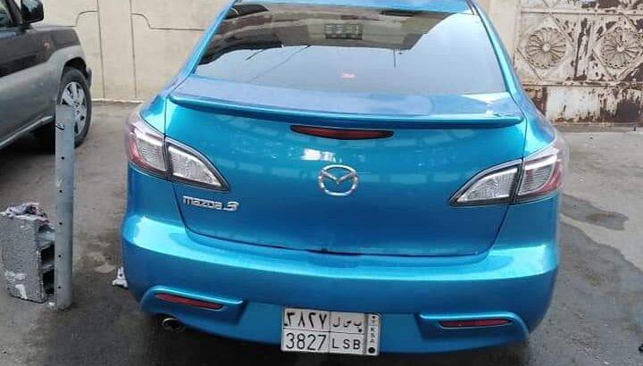 سياره مازدا 3 جده حي البوادي 2010ماشيه 281 الف ا