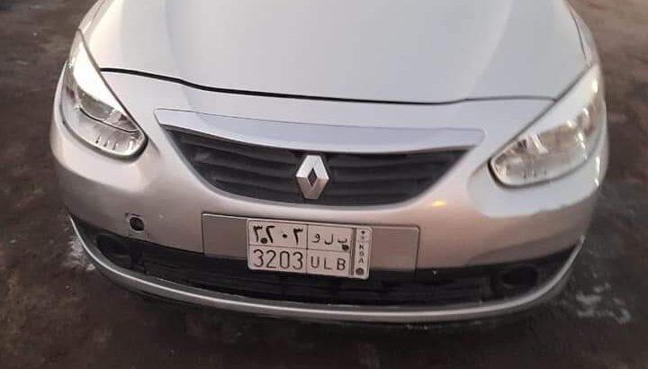 Renault fluence 2012 automatic SR 14000
