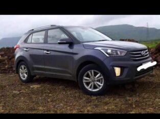 Hyundai Creta model 2017 mid option. insurance