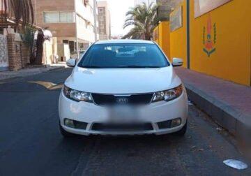 Kia cerato 2011 Full option Odometer 165000 km