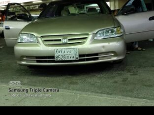 Honda accord Mùdel 2001 AC good Machene good