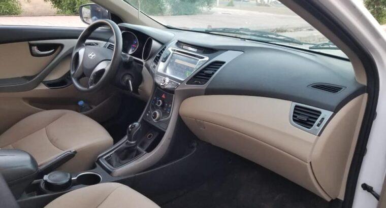 HYUNDAI ELANTRA 2016 6 speed automatic gearbox
