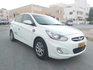 Hyundai Accent for sale full Automatic in Salalah