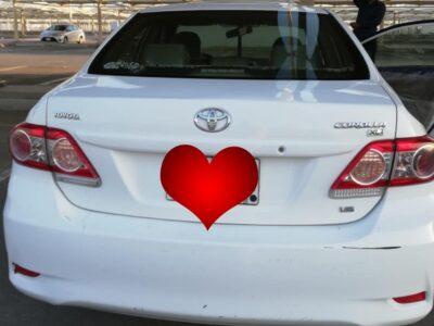 Toyota Corolla Model 2013 Sale in jeddah
