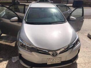Toyota corolla 2017 excellent condition transmission
