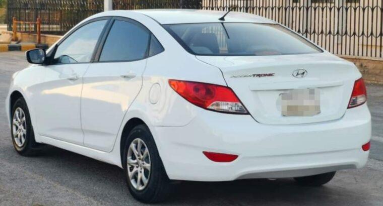 Hyundai accent model 2014 Automatic transmission