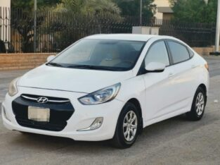 Hyundai accent model 2014 Automatic transmission