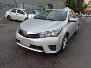 toyota corolla modil 2015 for sale in jeddah