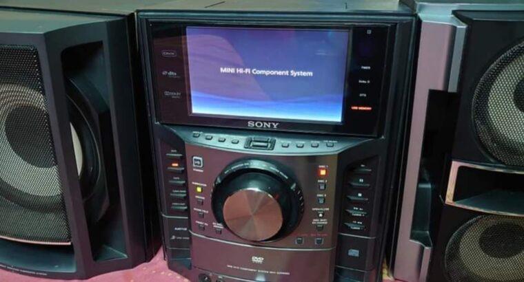 SONY LED DISPLAY MUSIC SYSTEM 3DVD VCD CD MP3 USB AM FM