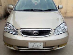 Toyota Corolla Altis Ginnein automatic 2005 model