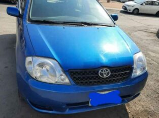 Toyota corolla Model 2002 Manual gear for sale in jeddah