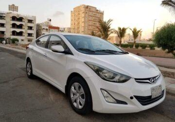 HYUNDAI ELANTRA 2016 – 6- speed automatic gearbox in jeddah