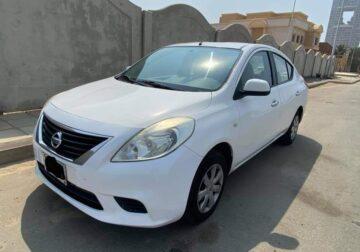 Nissan sunny Model 2014 in jeddah