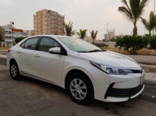 Toyota corolla xli–1.6 Model 2018 for sale in jeddah