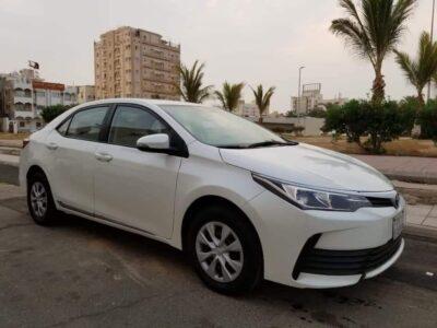 Toyota corolla xli–1.6 Model 2018 for sale in jeddah