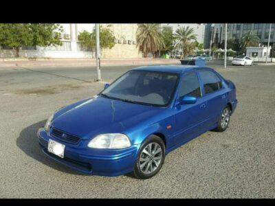 Honda Civic 1997 Lxi Manual Transmission for in jeddah