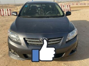 Toyota Corolla Model 2010 Manual transmission in Riyadh