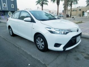 Toyota Yaris Model 2016 for sale on Jeddah