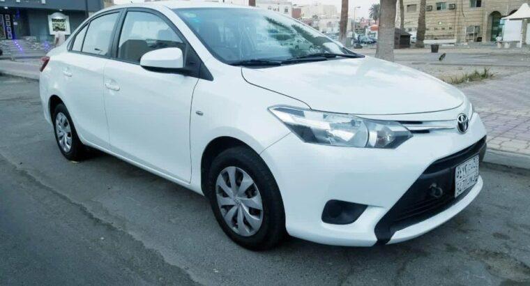 Toyota Yaris Model 2016 for sale on Jeddah