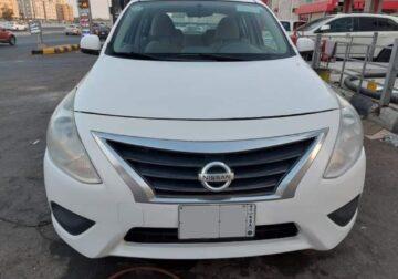Nissan sunny model 2018 .Auto transmission on jeddah