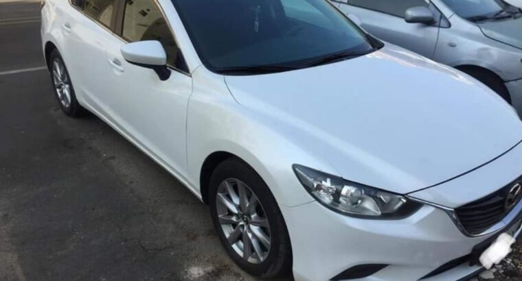 Mazda 6 Model 2014 good condition for sale in jeddah
