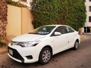 Toyota Yaris model 2017 auto Gear Power in jeddah