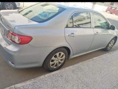 Toyota Corolla model 2013 used cars sale in jeddah