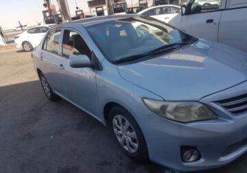 Toyota Corolla Model 2011 used cars sale in jeddah