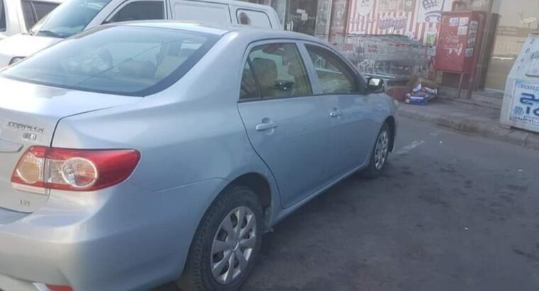 Toyota Corolla Model 2011 used cars sale in jeddah