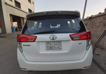 Toyota innova automatic 2017 used cars sale in jeddah