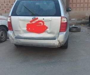 السيارة: كيا – كرنفال عائلية الموديل: 2012 القير: اوتوماتيك