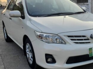 Toyota Corolla XLI Avaliable For Sale. Model 2013 Registered