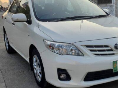 Toyota Corolla XLI Avaliable For Sale. Model 2013 Registered