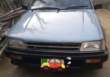 Daihatsu charade 1986 model in vitz engine good for family