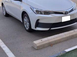 Toyota corolla XLi Model 2019 Executive Lease Transfer