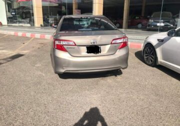 Toyota Camry model 2014 used cars sale in jeddah