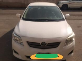 toyota corolla model 2009 gear manual odo 278k