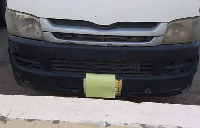 Toyota hise model 2012 for sale in jeddah