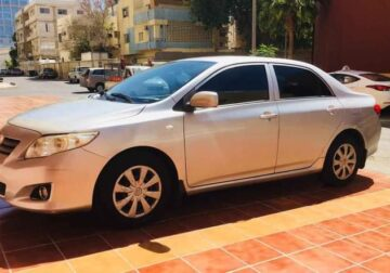 Toyota Corolla 2010 Model. Manual. Fahas New. Istmara