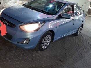 Hyundai Accent 2014 Transmission atuometic sale in jeddah