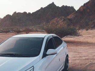Hyundai Accent 2016 Madinah Munnawarrah Odo 200k